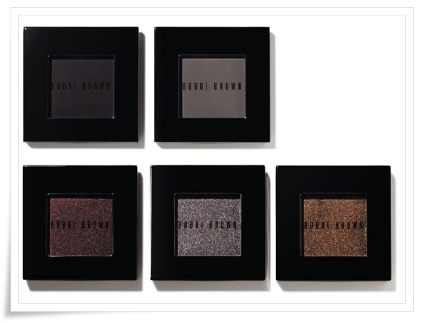 REVIEW: BOBBI BROWN Metallic eyeshadows