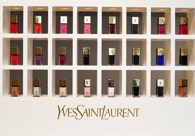 REVIEW: Yves Saint Laurent LA LAQUE COUTURE NailLacquer