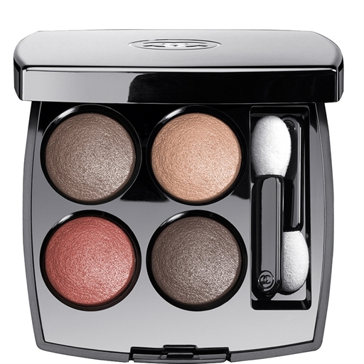 M.O.T.D: A look for Autumn feat. CHANEL Les 4 Ombres Multi-effect Quadra Eyeshadow